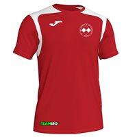 FC Vorwärts Kornharpen Trikot rot/weiß Junior